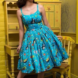 Pinup Girl Clothing Jenny Dress Snow White HEMMED